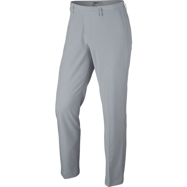 GREY/ANTHRACITE FLAT FRONT STRETCH WVN PANT   -