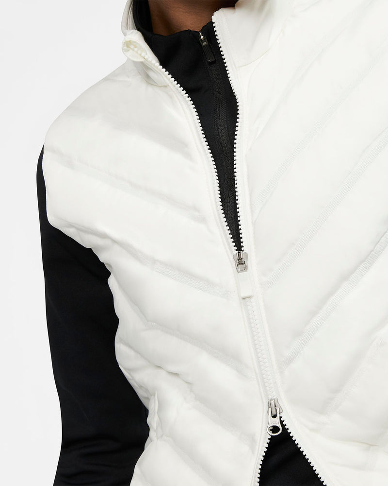 WHITE AeroLoft Golf Vest - WOMEN / OUTLET