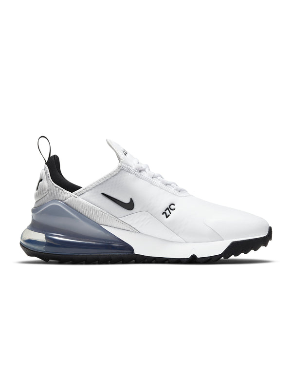 White 'Nike Air Max 270 G' Golf Shoe - MEN