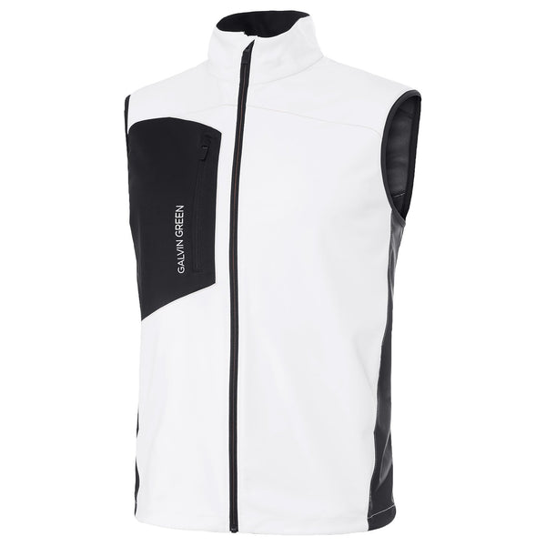 White LENNY INTERFACE™ BODYWARMER/VEST - MEN'S / SS18