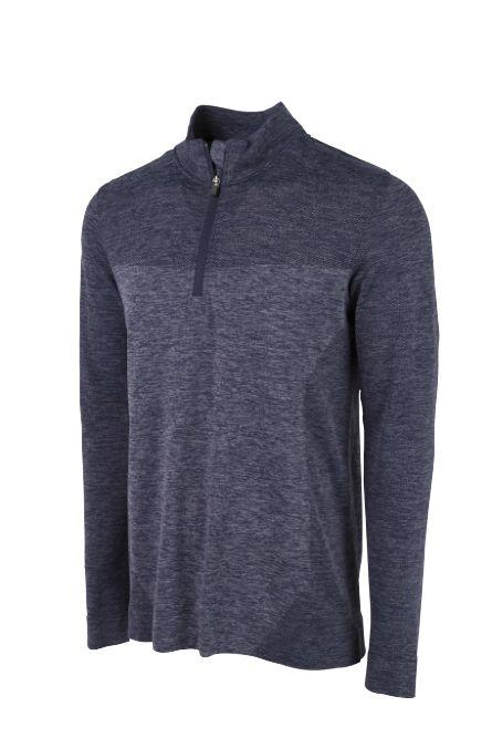 Peacoat EVOKNIT SEAMLESS 1/4 ZIP - Men's / ss18
