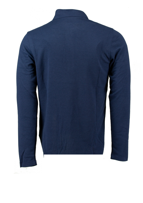 Navy 'Dri-FIT Victory' 1/2-Zip LONG SLEEVE Golf Top - MEN / 2021