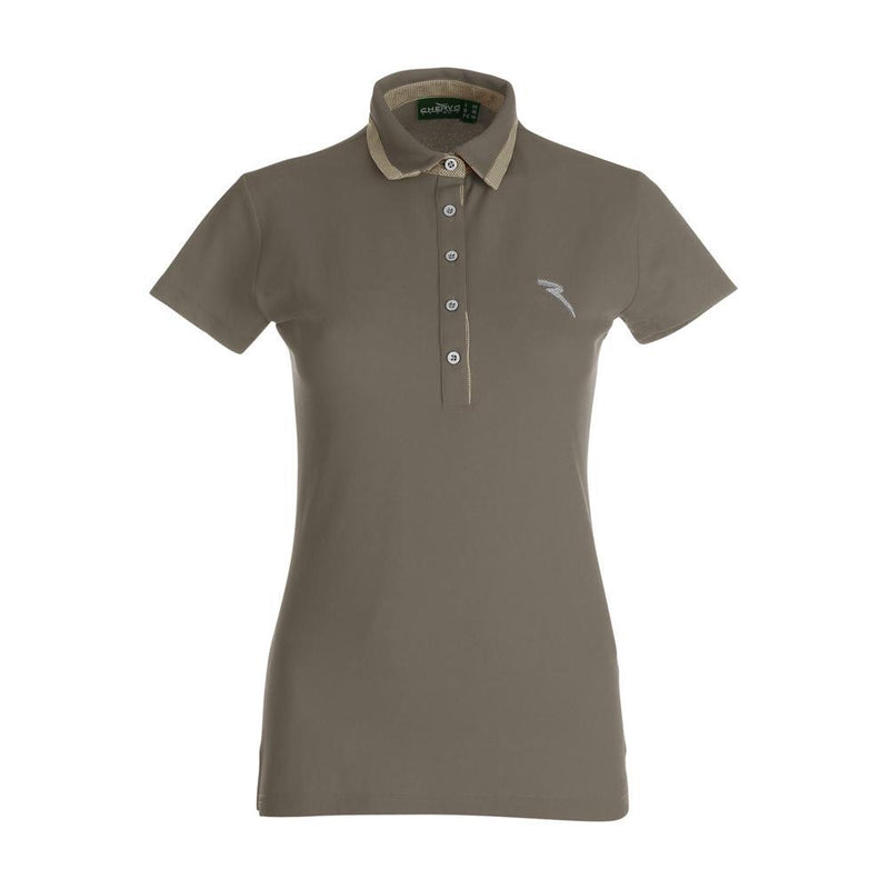WOOD BROWN ABELE POLO   -  SS17