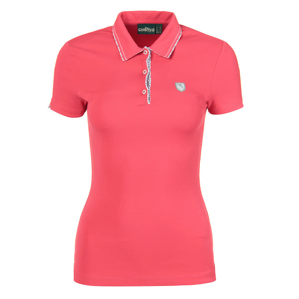 Ibiscus Pink ADELLE Polo - WOMEN / OUTLET