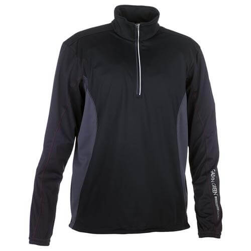 BLACK BRAD HALF ZIP WINDSTOPPER - MEN / OUTLET