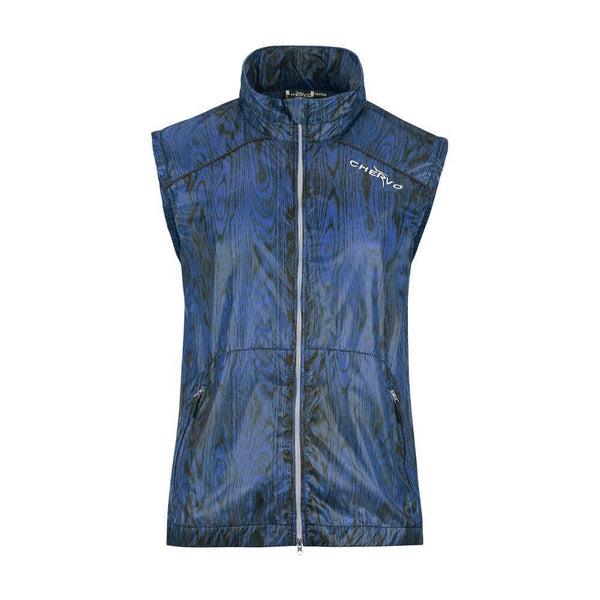 BLUE ELISEO VEST - MEN / OUTLET