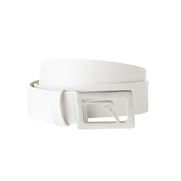 WHITE UBUCKLE BELT - UNISEX / OUTLET