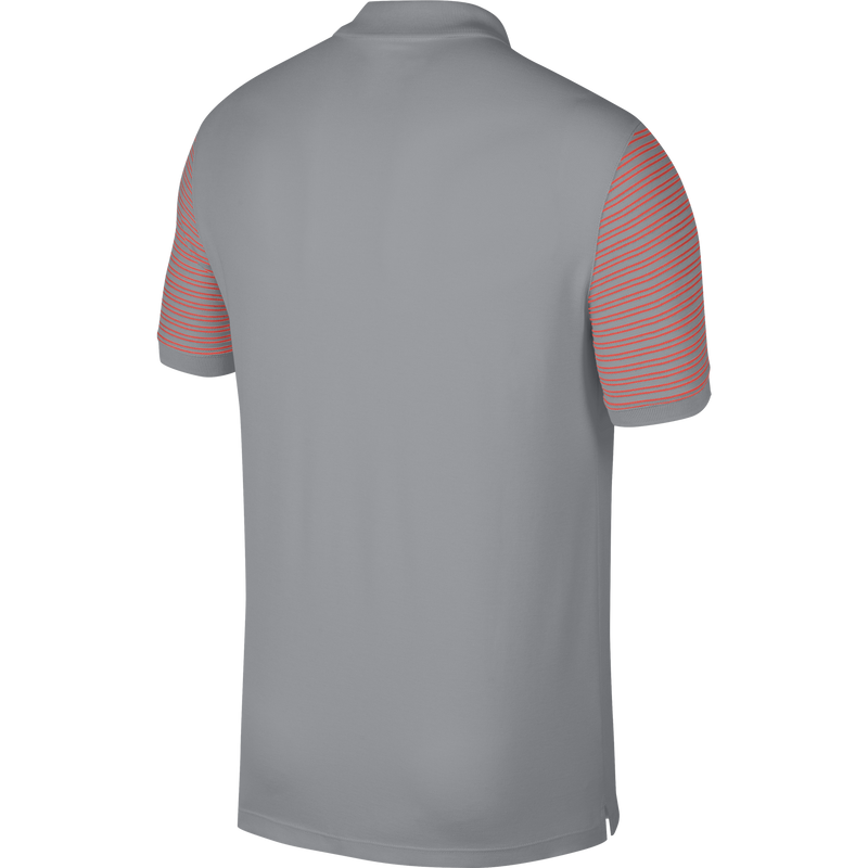 WOLF GREY/RUSH CORAL Dry Golf Polo (Regular Fit) - MEN / OUTLET