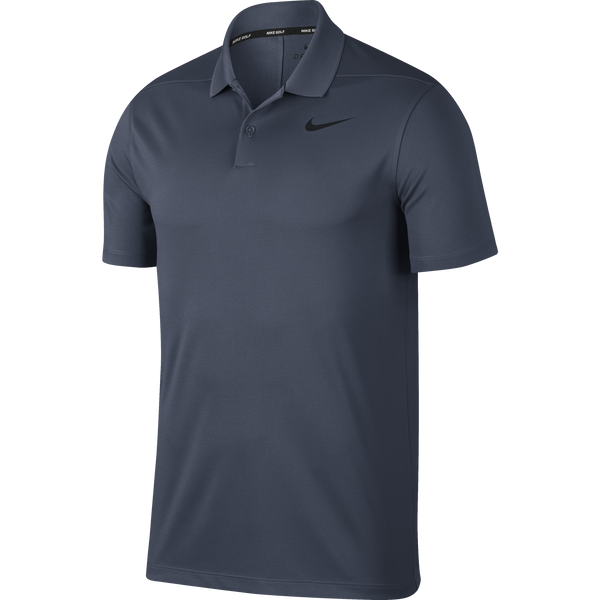 THUNDER BLUE/BLACK Dry Victory Golf Polo (Regular Fit) - Men's / SS18