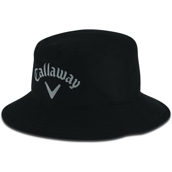 BLACK 'Aqua Dry' Bucket Hat - MEN