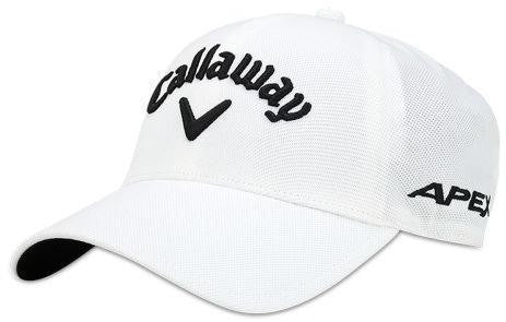 White 'tour authentic' SEAMLESS Golf Cap - MEN