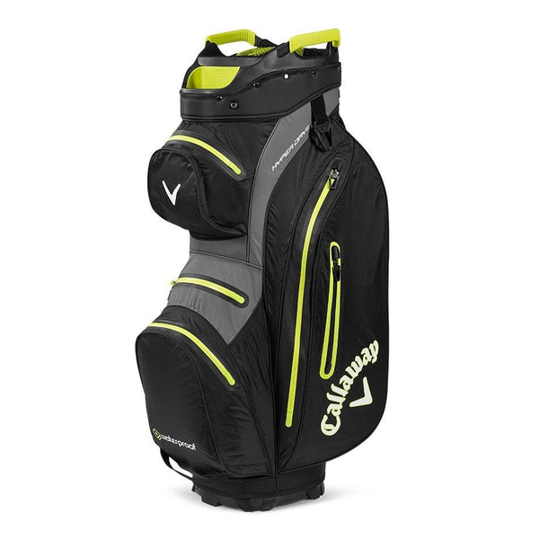Black 'Hyper Dry 15' Cart Golf Bag