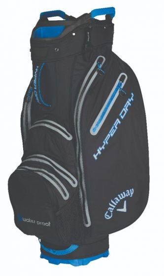 black/blue Hyper Dry Golf Cart Bag