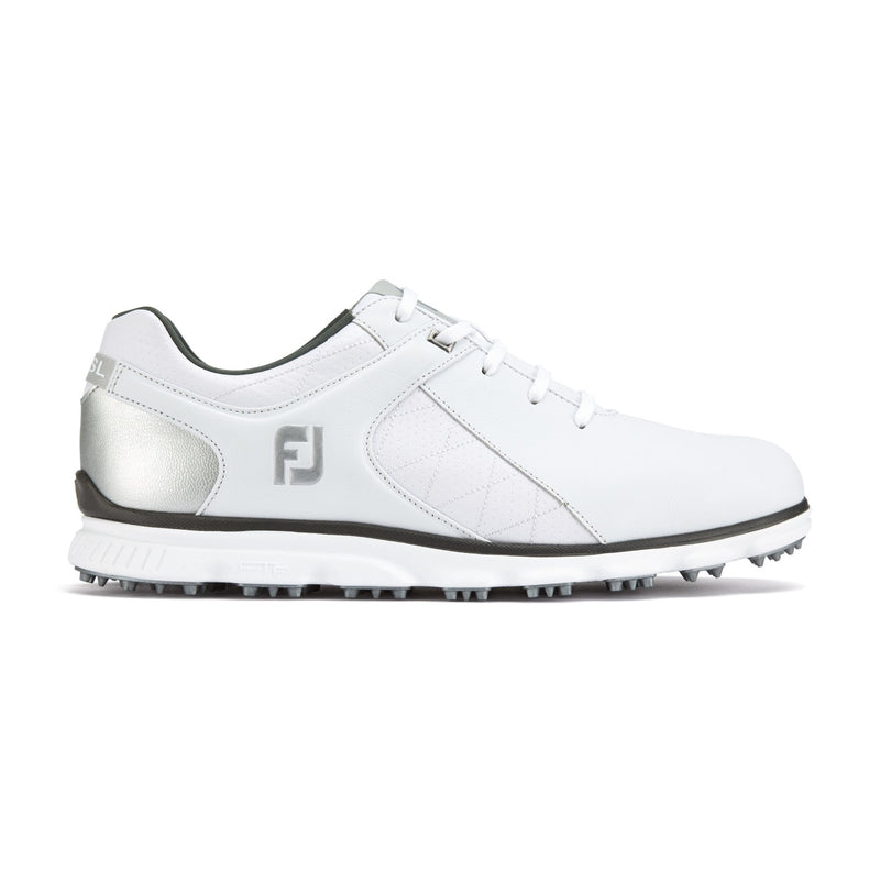 White/Silver Pro/SL GOLF SHOE - MEN / OUTLET