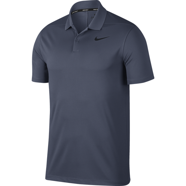 LIGHT CARBON/BLACK Dry Victory Golf Polo (Regular Fit) - Men's / SS18