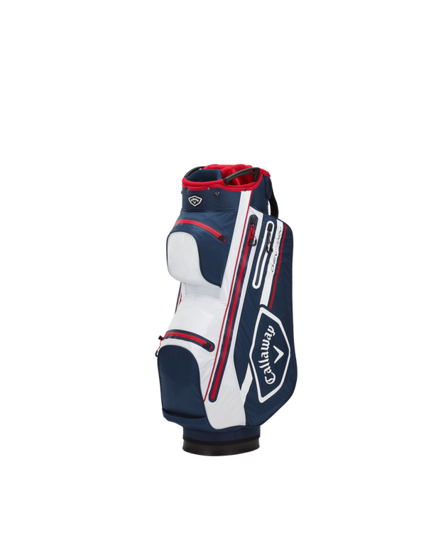 navy 'CHEV DRY 14' CART BAG