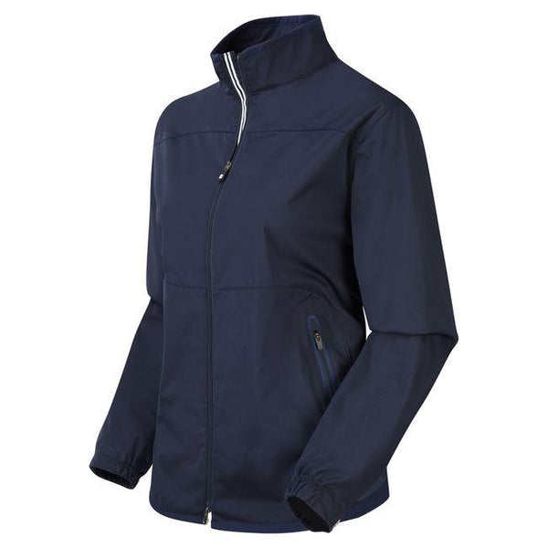 Navy Lightweight Softshell Golf Jacket Women - 2018