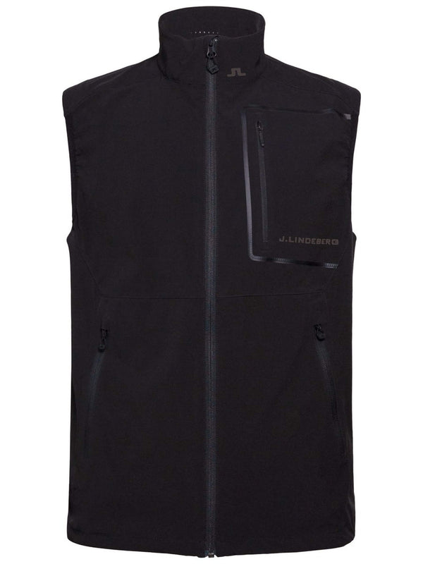BLACK KINETIC VEST LUX SOFTSHELL OUTERWEAR - MEN'S / SS18