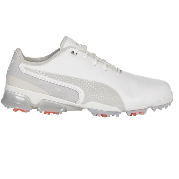 WHITE/GREY 'IGNITE PROADAPT' GOLF SHOE - MEN / AW19