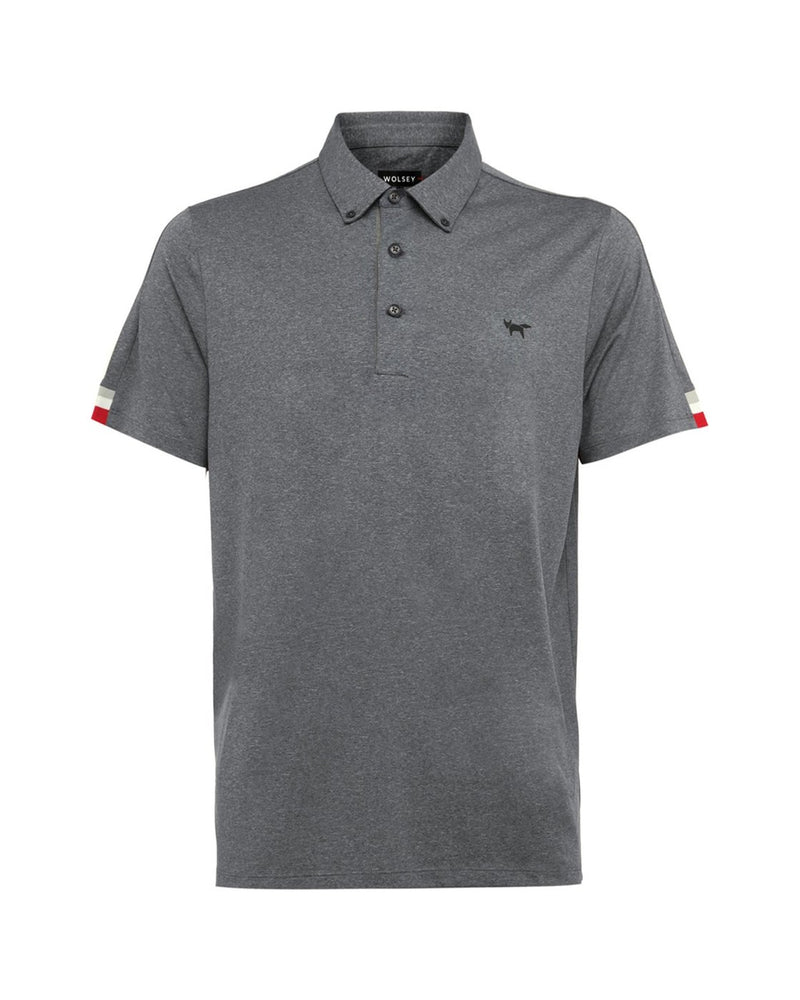 TOTAL ECLIPSE TIPPING SLEEVE POLO
