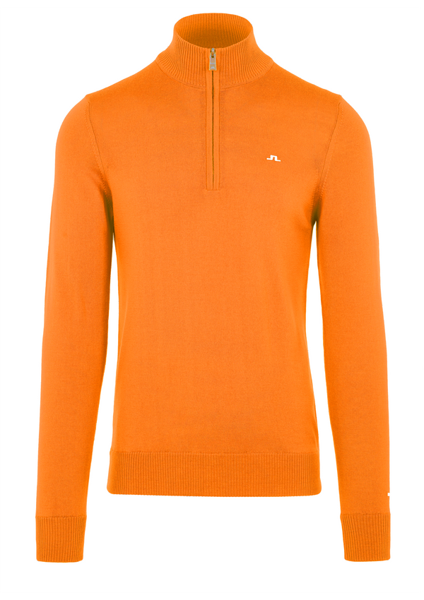 Orange 'KIAN' TOUR MERINO SWEATER - MEN / 2021