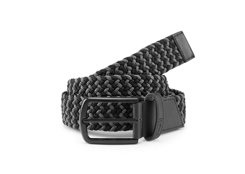 BLACK 'PING STRETCH WEBBING' GOLF BELT - MEN
