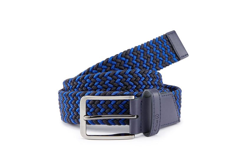 BLUE 'PING STRETCH WEBBING' GOLF BELT - MEN