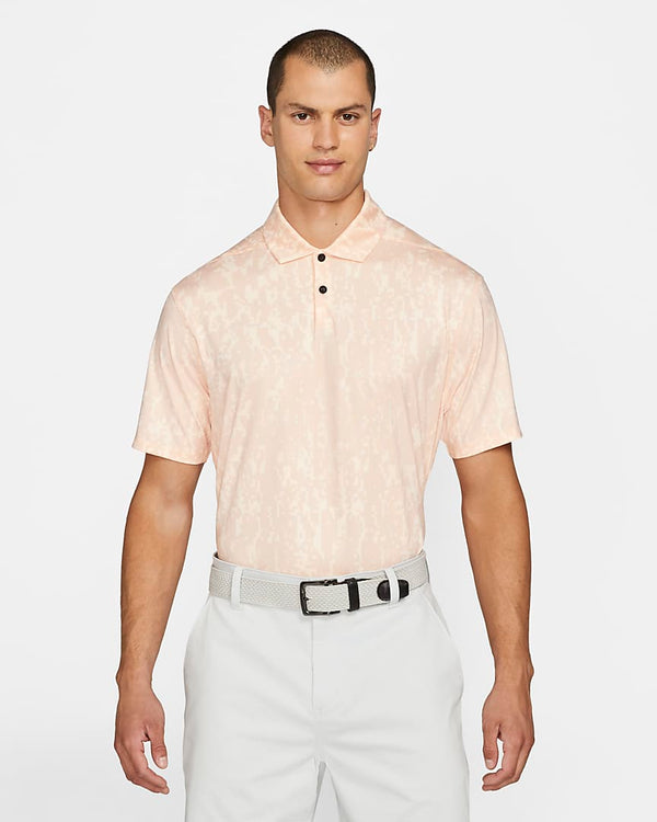 ARCTIC ORANGE/BLACK 'Dri-FIT Vapor' Graphic Golf Polo - MEN