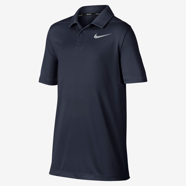 NAVY Dry Victory Golf Polo - JUNIOR / AW19