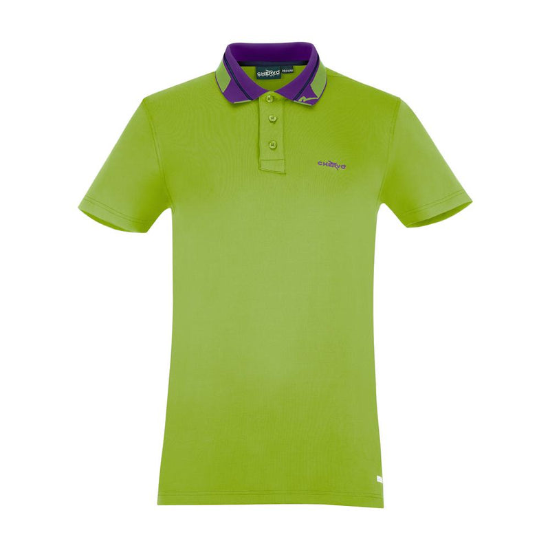 GREEN ANALOGY POLO - MEN / OUTLET