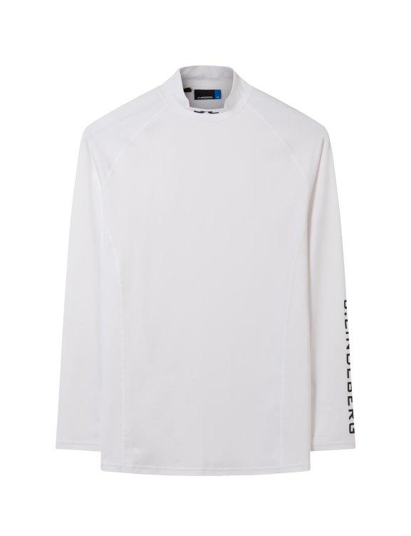 WHITE AELLO SOFT COMPRESSION Anti-odour TOP - Men's / SS18
