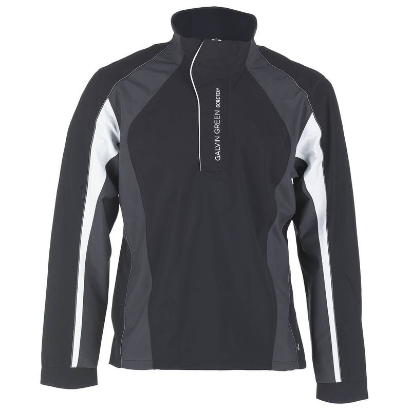 BLACK/IRON GREY/WHITE ADDISON HALF ZIP GORE-TEX JACKET - MEN / OUTLET