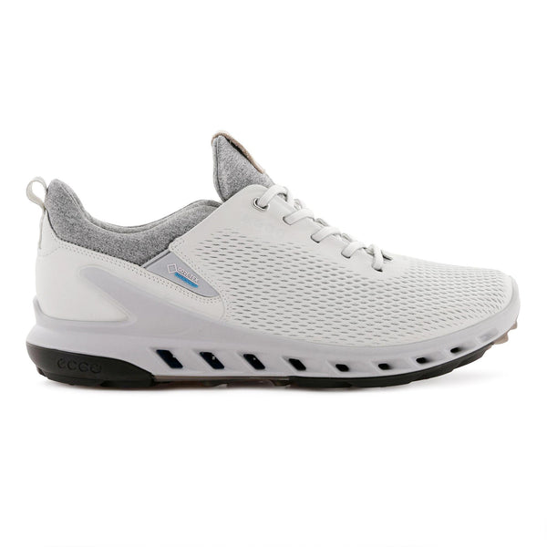 WHITE 'GOLF BIOM COOL PRO' GORE-TEX WATERPROOF GOLF SHOE - MEN / SS20
