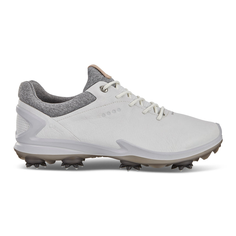 WHITE  'GOLF BIOM G 3' GORE-TEX WATERPROOF GOLF SHOE - MEN / SS20