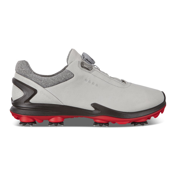 WHITE 'GOLF BIOM G 3' GORE-TEX WATERPROOF GOLF SHOE WITH BOA - MEN / SS20