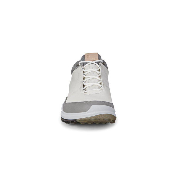 WHITE 'GOLF BIOM HYBRID 3' GORE-TEX WATERPROOF GOLF SHOE - MEN / SS20