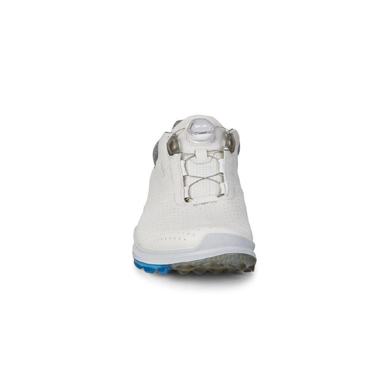 WHITE 'GOLF BIOM HYBRID 3' GORE-TEX WATERPROOF GOLF SHOE WITH BOA - MEN / SS20