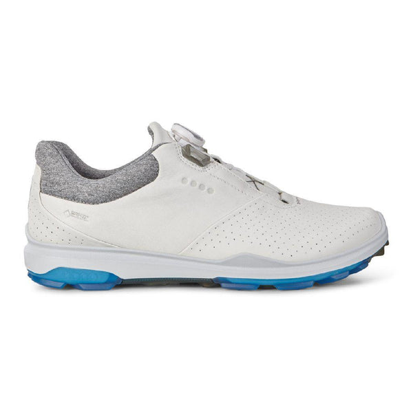 WHITE 'GOLF BIOM HYBRID 3' GORE-TEX WATERPROOF GOLF SHOE WITH BOA - MEN