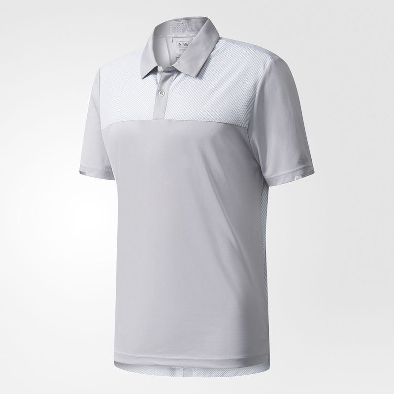 GREY CCH HEATHER COMP POLO   -  SS17