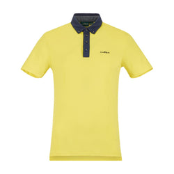 YELLOW ALBAVILLA POLO - MEN / OUTLET