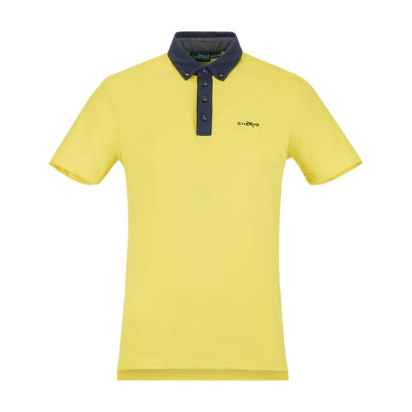 YELLOW ALBAVILLA POLO   -  SS17