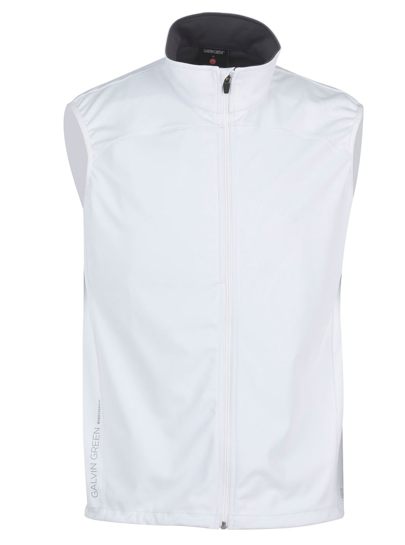 WHITE BUZZ SLEEVELESS WINDSTOPPER - MEN / OUTLET