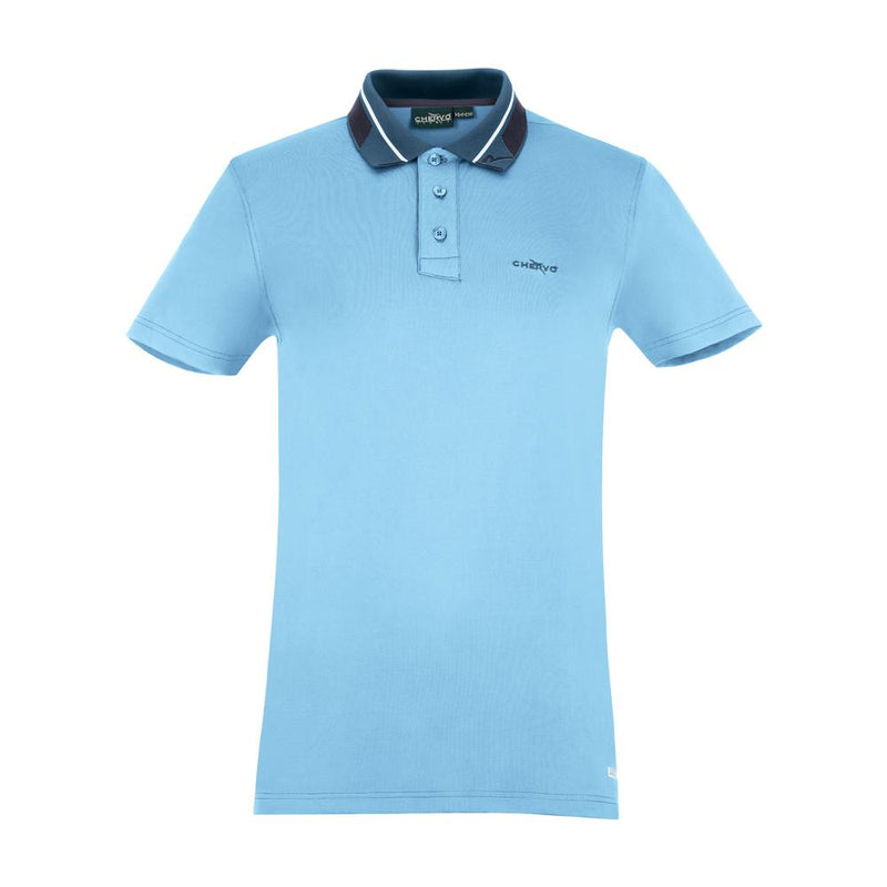 WEST INDIES BLUE ANALOGY POLO   -  SS17