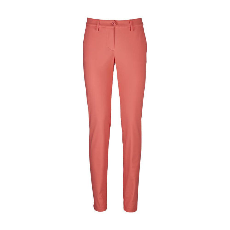 FLAMINGO PINK SPIEDINO TROUSERS  - WOMEN / OUTLET