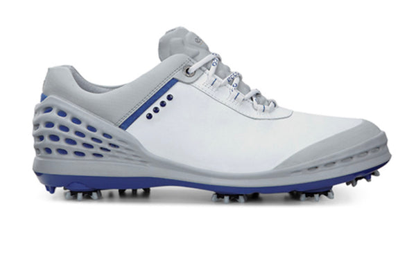 WHITE/ROYAL CAGE GOLF SHOE - MEN / OUTLET