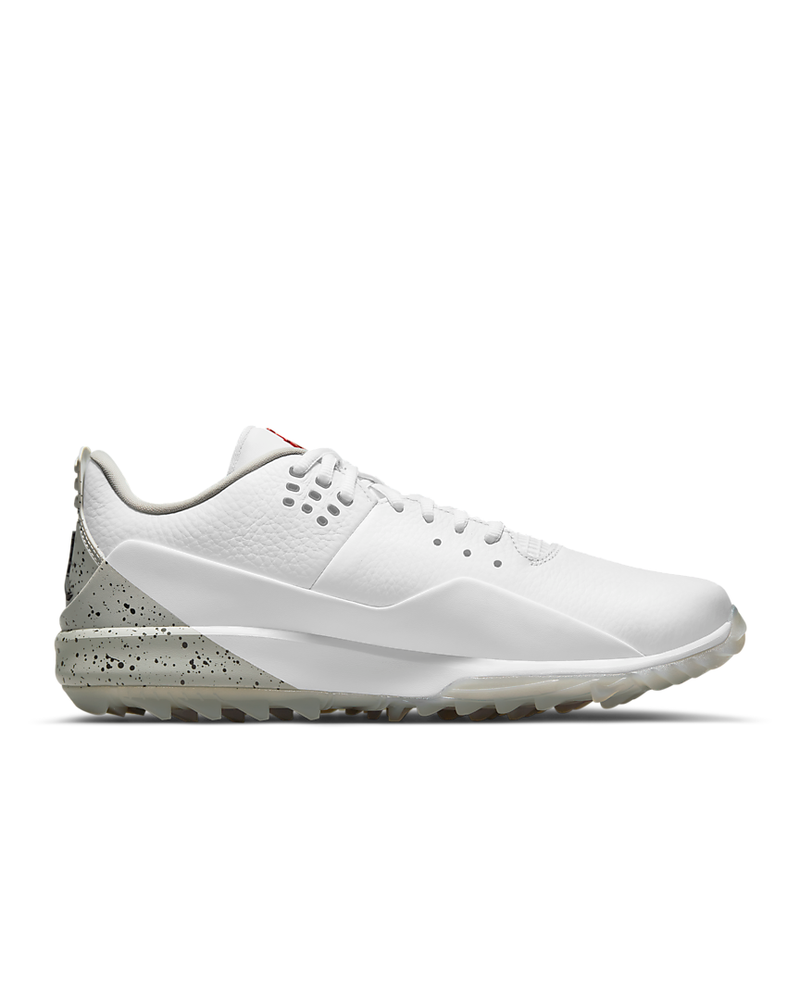 WHITE/FIRE-TECH GREY-BLACK 'Jordan ADG 3' Golf Shoe - MEN