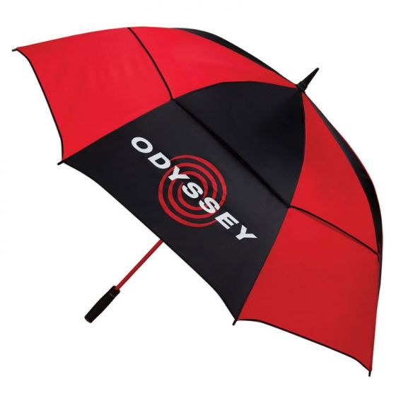 Red 'Odyssey' 68 Inch Double Canopy Golf Umbrella