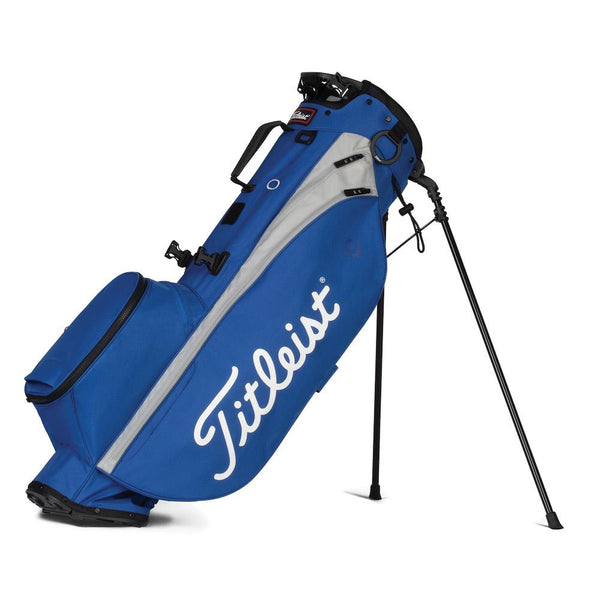 Royal/Grey 'PLAYERS 4' Stand Golf Bag
