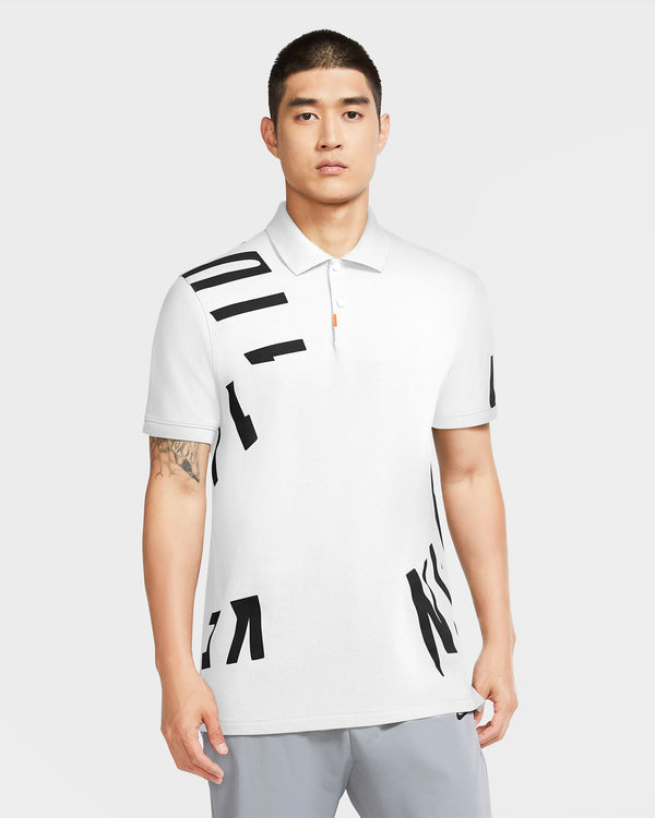 White 'The Nike Polo' Slim Fit Golf Polo - Unisex / AW20