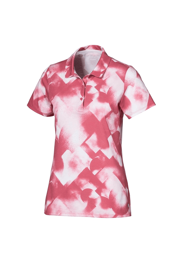 Rose 'Soft Geo' Golf Polo - WOMEN / SS20